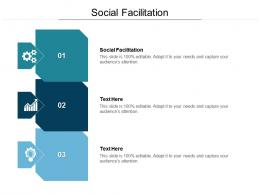 Social Facilitation Ppt Powerpoint Presentation Pictures Graphic Tips Cpb