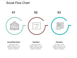 Social Flow Chart Ppt Powerpoint Presentation Gallery Format Cpb