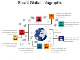 Social Global Infographic