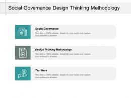 Social Governance Design Thinking Methodology Task Management System Cpb