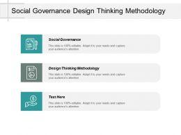 Social Governance Design Thinking Methodology Task Management System Cpb