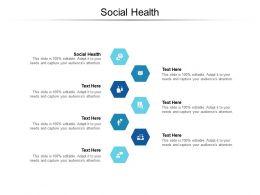 Social Health Ppt Powerpoint Presentation Portfolio Guide Cpb