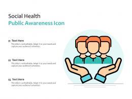 Social Health Public Awareness Icon