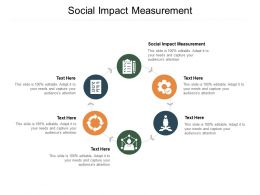 Social Impact Measurement Ppt Powerpoint Presentation Graphics Cpb