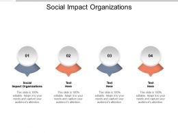 Social Impact Organizations Ppt Powerpoint Presentation Icon Example Introduction Cpb