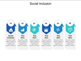 Social Inclusion Ppt Powerpoint Presentation Icon Slides Cpb