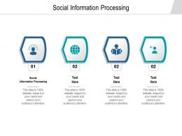 Social Information Processing Ppt Powerpoint Presentation Show Clipart Images Cpb