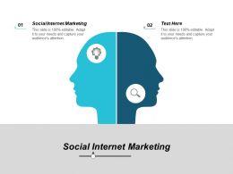 Social Internet Marketing Ppt Powerpoint Presentation Ideas Background Image Cpb