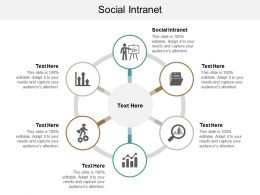Social Intranet Ppt Powerpoint Presentation Gallery Background Image Cpb