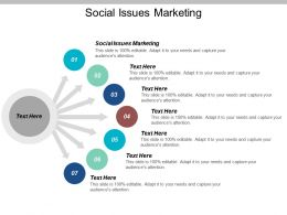 Social Issues Marketing Ppt Powerpoint Presentation Gallery Graphics Tutorials Cpb