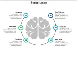 Social Learn Ppt Powerpoint Presentation Styles Show Cpb