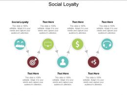 Social Loyalty Ppt Powerpoint Presentation Gallery Format Ideas Cpb