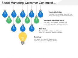 Social Marketing Customer Generated Social Social Content Market Research