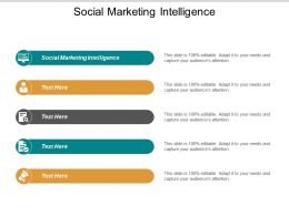 Social Marketing Intelligence Ppt Powerpoint Presentation Model Background Cpb