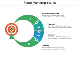 Social Marketing Issues Ppt Powerpoint Presentation Inspiration Background Image Cpb
