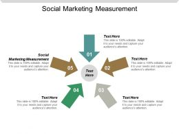 Social Marketing Measurement Ppt Powerpoint Presentation Icon Samples Cpb