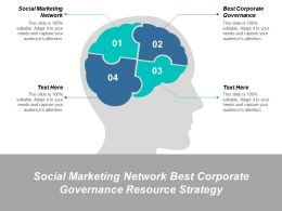 Social Marketing Network Best Corporate Governance Resource Strategy Cpb