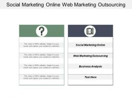 Social Marketing Online Web Marketing Outsourcing Business Analysis Cpb