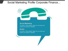 Social Marketing Profile Corporate Finance Strategies Management Organizational Behavior Cpb