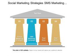 Social Marketing Strategies Sms Marketing Campaign Integration Data Warehouse Cpb