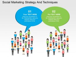 social_marketing_strategy_and_techniques_flat_powerpoint_design_Slide01