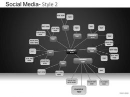 Social Media 2 Powerpoint Presentation Slides DB