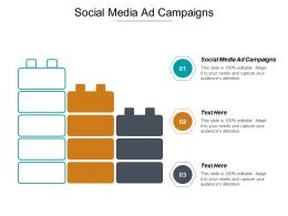 Social Media Ad Campaigns Ppt Powerpoint Presentation Outline Examples Cpb