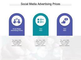 Social Media Advertising Prices Ppt Powerpoint Presentationmodel Brochure Cpb
