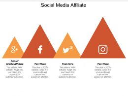 Social Media Affiliate Ppt Powerpoint Presentation Infographic Template Elements Cpb