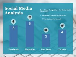 Social Media Analysis Ppt Gallery Structure