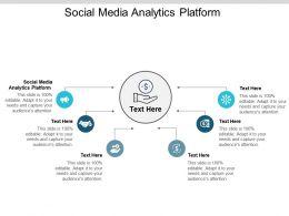 Social Media Analytics Platform Ppt Powerpoint Presentation Professional Sample Cpb