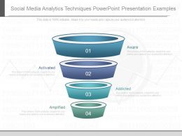 Social Media Analytics Techniques Powerpoint Presentation Examples