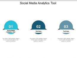 Social Media Analytics Tool Ppt Powerpoint Presentation Infographic Template Slides Cpb