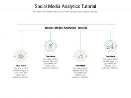 Social Media Analytics Tutorial Ppt Powerpoint Presentation Portfolio Professional Cpb