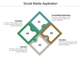 Social Media Application Ppt Powerpoint Presentation Infographic Template Slide Cpb