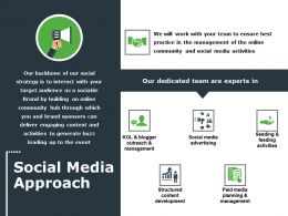 Social Media Approach Ppt File Graphics