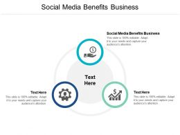 Social Media Benefits Business Ppt Powerpoint Presentation Show Gallery Cpb