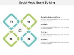 Social Media Brand Building Ppt Powerpoint Presentation Ideas Mockup Cpb