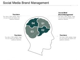 Social Media Brand Management Ppt Powerpoint Presentation Pictures Summary Cpb