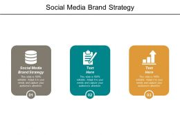 Social Media Brand Strategy Ppt Powerpoint Presentation File Skills Cpb