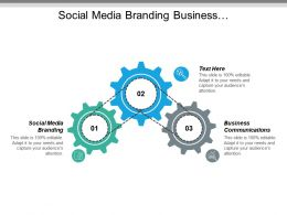 Social Media Branding Business Communications Online Sales Conversions Cpb