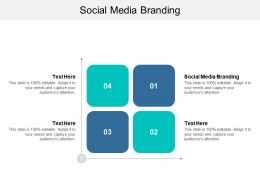 Social Media Branding Ppt Powerpoint Presentation Slides Objects Cpb