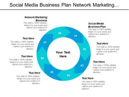 Social Media Business Plan Network Marketing Business Marketing Communications Cpb