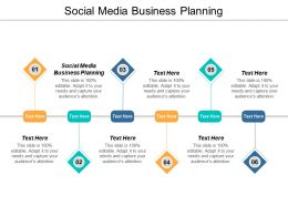 Social Media Business Planning Ppt Powerpoint Presentation Infographic Template Cpb