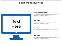 Social Media Business Ppt Powerpoint Presentation Styles Styles Cpb