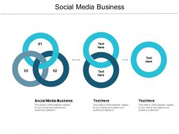 Social Media Business Ppt Powerpoint Presentation Visual Aids Cpb