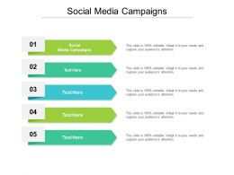 Social Media Campaigns Ppt Powerpoint Presentation Professional Pictures Cpb