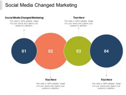 Social Media Changed Marketing Ppt Powerpoint Presentation Professional Design Templates Cpb