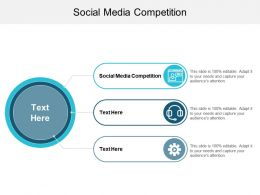 Social Media Competition Ppt Powerpoint Presentation Portfolio Objects Cpb