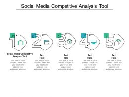 Social Media Competitive Analysis Tool Ppt Powerpoint Presentation Styles Graphic Tips Cpb